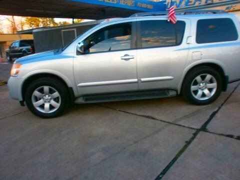 2008 Nissan Armada for sale at Under Priced Auto Sales in Houston TX
