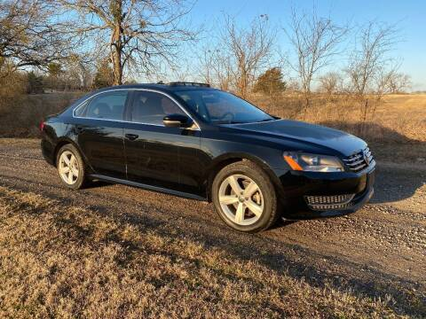 2013 Volkswagen Passat for sale at CAVENDER MOTORS in Van Alstyne TX