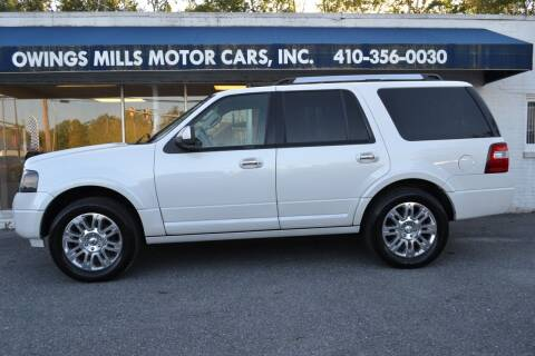 2013 Ford Expedition for sale at Owings Mills Motor Cars in Owings Mills MD