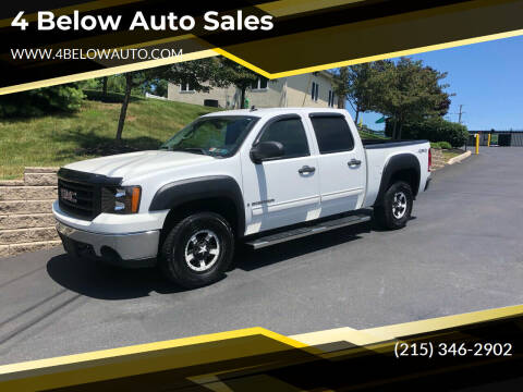 2008 GMC Sierra 1500 for sale at 4 Below Auto Sales in Willow Grove PA