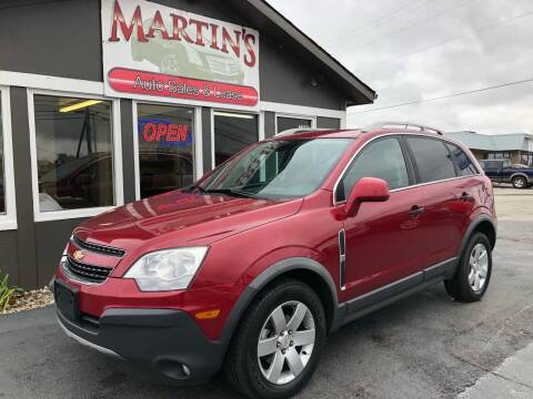2012 Chevrolet Captiva Sport for sale at Martins Auto Sales in Shelbyville KY