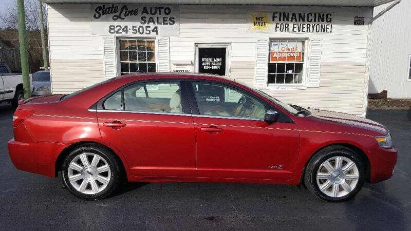 2008 Lincoln MKZ for sale at STATE LINE AUTO SALES in New Church VA