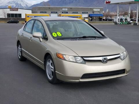 2008 Honda Civic for sale at FRESH TREAD AUTO LLC in Springville UT