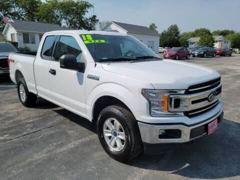 2018 Ford F-150 for sale at Cooley Auto Sales in North Liberty IA