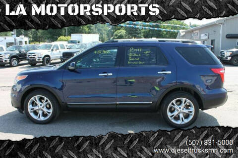 2011 Ford Explorer for sale at LA MOTORSPORTS in Windom MN