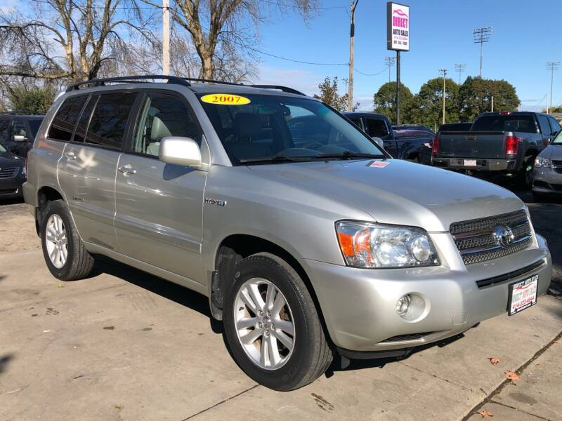 2007 Toyota Highlander Hybrid for sale at Direct Auto Sales in Milwaukee WI