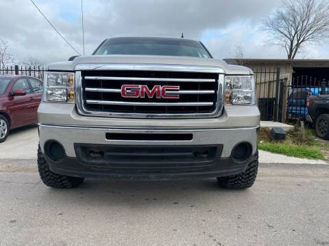 2009 GMC Sierra 1500 for sale at ALL STAR MOTORS INC in Houston TX
