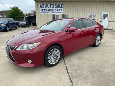 2013 Lexus ES 350 for sale at AZ Auto Sale in Houston TX