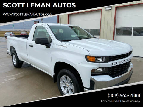 2020 Chevrolet Silverado 1500 for sale at SCOTT LEMAN AUTOS in Goodfield IL