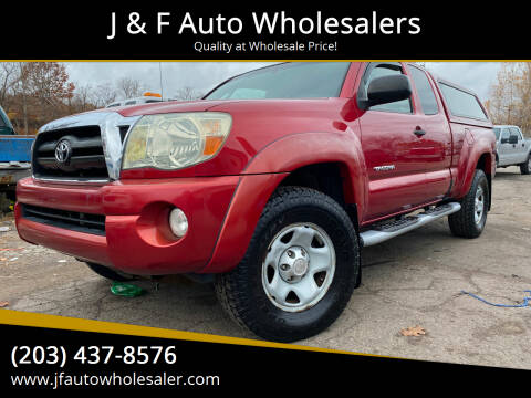 2006 Toyota Tacoma for sale at J & F Auto Wholesalers in Waterbury CT