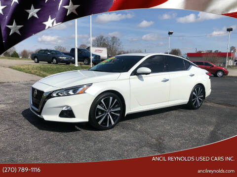 2019 Nissan Altima for sale at Ancil Reynolds Used Cars Inc. in Campbellsville KY