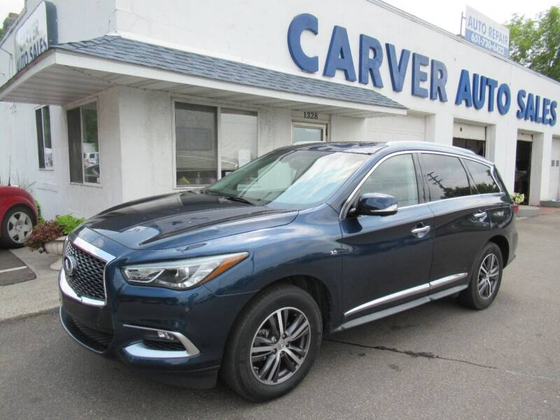 2016 Infiniti QX60 for sale at Carver Auto Sales in Saint Paul MN