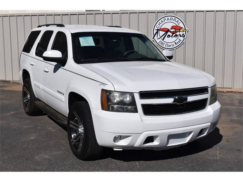 2008 Chevrolet Tahoe for sale at Chaparral Motors in Lubbock TX
