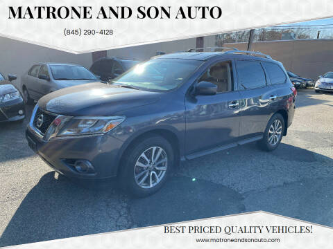 2014 Nissan Pathfinder for sale at Matrone and Son Auto in Tallman NY