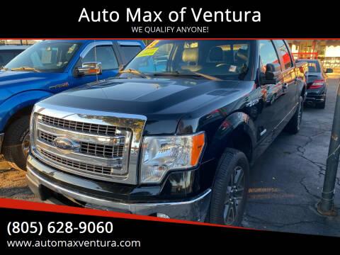 2013 Ford F-150 for sale at Auto Max of Ventura in Ventura CA