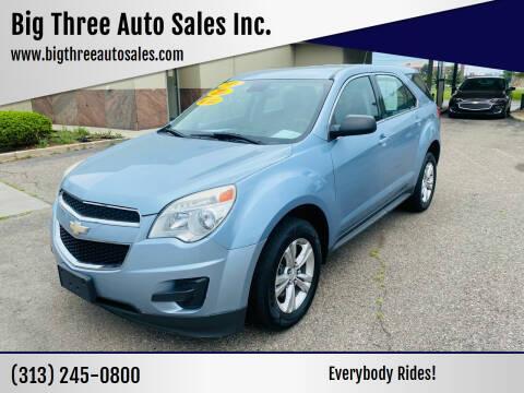 2014 Chevrolet Equinox for sale at Big Three Auto Sales Inc. in Detroit MI