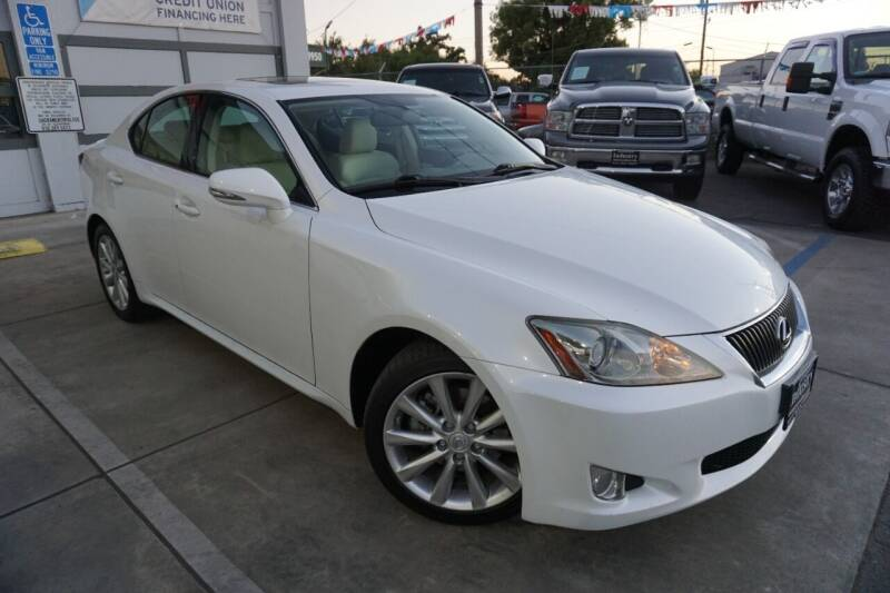 2010 Lexus IS 250 for sale at Industry Motors in Sacramento CA