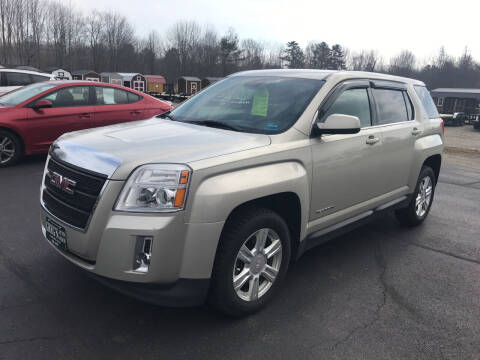 2015 GMC Terrain for sale at Greg's Auto Sales in Searsport ME