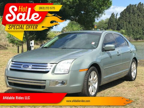 2008 Ford Fusion for sale at A4dable Rides LLC in Haines City FL