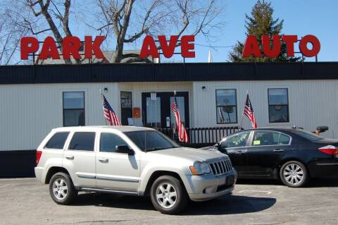 2008 Jeep Grand Cherokee for sale at Park Ave Auto Inc. in Worcester MA