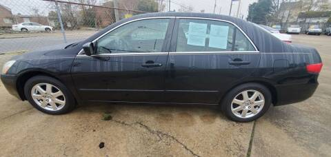2005 Honda Accord for sale at Tims Auto Sales in Rocky Mount NC