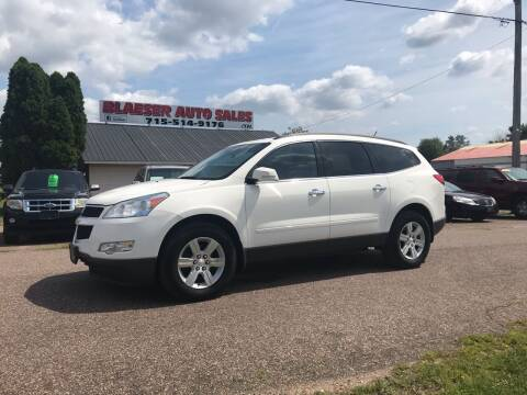 2010 Chevrolet Traverse for sale at BLAESER AUTO LLC in Chippewa Falls WI