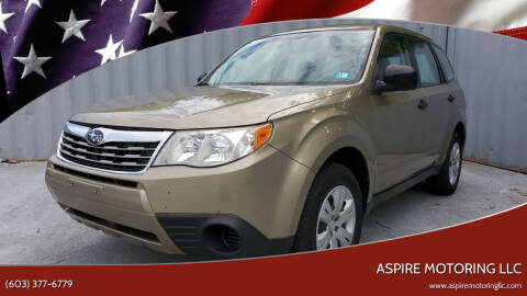 2009 Subaru Forester for sale at Aspire Motoring LLC in Brentwood NH