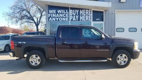 2008 Chevrolet Silverado 1500 for sale at STERLING MOTORS in Watertown SD