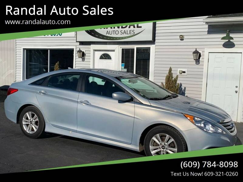 2014 Hyundai Sonata for sale at Randal Auto Sales in Eastampton NJ