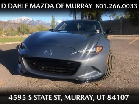2021 Mazda MX-5 Miata RF for sale at D DAHLE MAZDA OF MURRAY in Salt Lake City UT