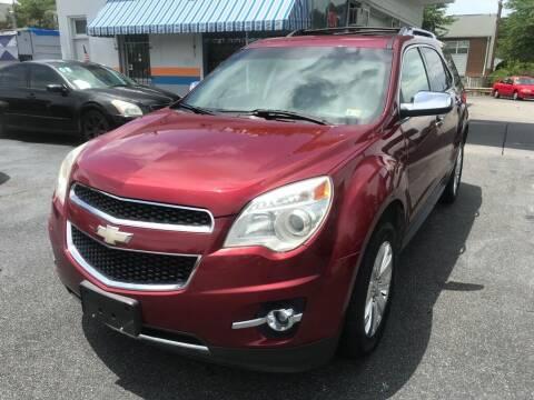 2010 Chevrolet Equinox for sale at Dad's Auto Sales in Newport News VA