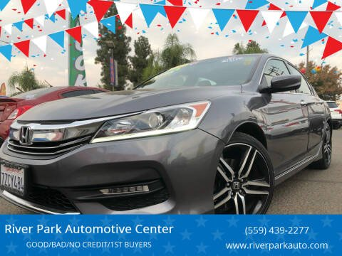 2017 Honda Accord for sale at River Park Automotive Center in Fresno CA