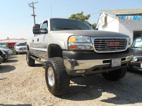 2002 GMC Sierra 2500HD for sale at Mountain Auto in Jackson CA