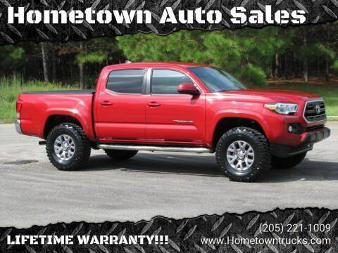 2016 Toyota Tacoma for sale at Hometown Auto Sales - Trucks in Jasper AL
