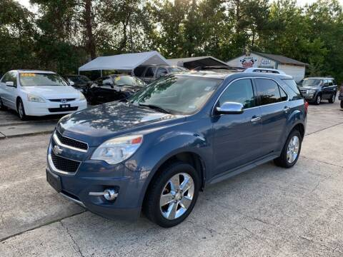 2012 Chevrolet Equinox for sale at AUTO WOODLANDS in Magnolia TX