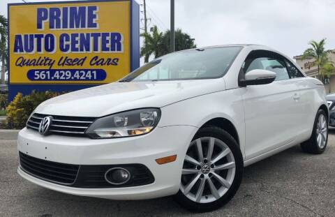 2012 Volkswagen Eos for sale at PRIME AUTO CENTER in Palm Springs FL