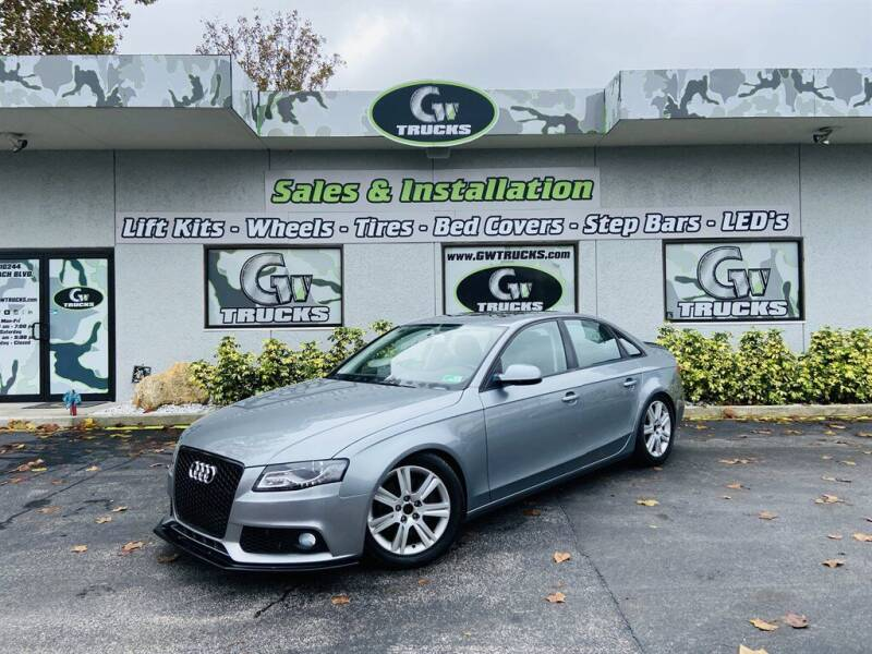 2010 Audi A4 for sale at Greenway Auto Sales in Jacksonville FL