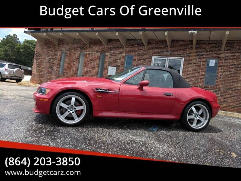 1998 BMW M for sale at Budget Cars Of Greenville in Greenville SC