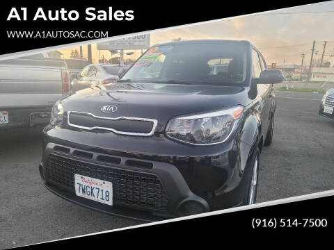 2016 Kia Soul for sale at A1 Auto Sales in Sacramento CA