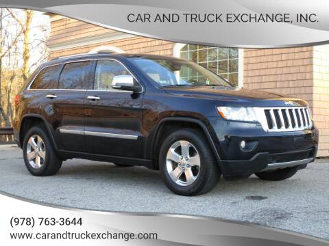 2011 Jeep Grand Cherokee for sale at Car and Truck Exchange, Inc. in Rowley MA