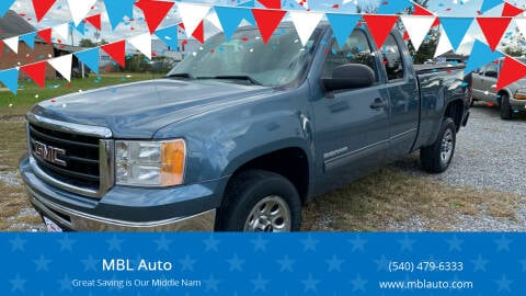 2011 GMC Sierra 1500 for sale at MBL Auto Woodford in Woodford VA