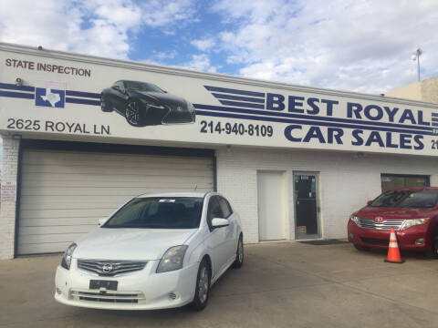 2010 Nissan Sentra for sale at Best Royal Car Sales in Dallas TX