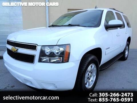 2014 Chevrolet Tahoe for sale at Selective Motor Cars in Miami FL