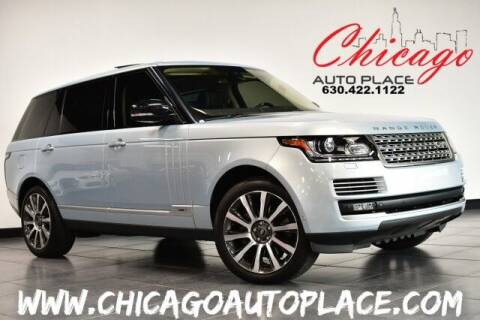 2014 Land Rover Range Rover for sale at Chicago Auto Place in Bensenville IL