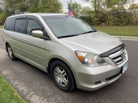 2007 Honda Odyssey for sale at Angies Auto Sales LLC in Newport MN