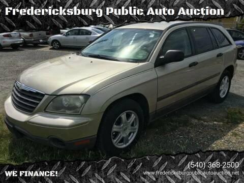 2006 Chrysler Pacifica for sale at FPAA in Fredericksburg VA