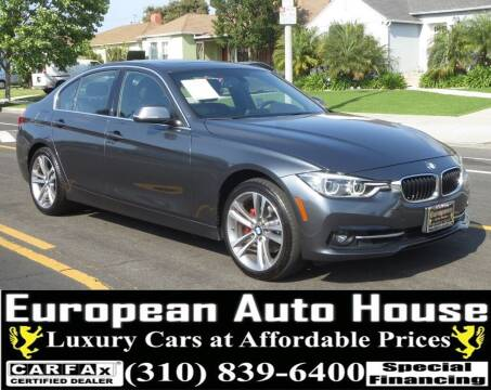 2018 BMW 3 Series for sale at European Auto House in Los Angeles CA