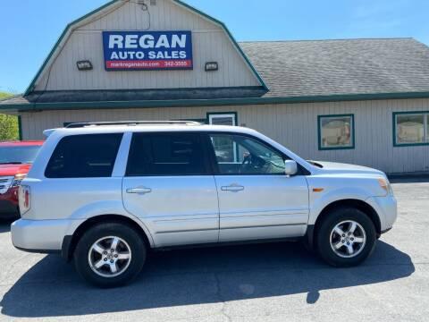 2008 Honda Pilot for sale at Mark Regan Auto Sales in Oswego NY
