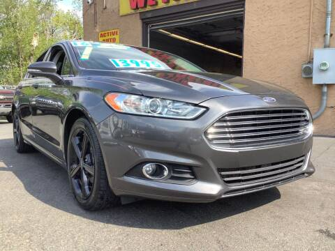 2016 Ford Fusion for sale at Active Auto Sales Inc in Philadelphia PA