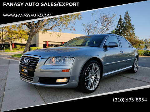 2009 Audi A8 L for sale at FANASY AUTO SALES/EXPORT in Yorba Linda CA